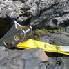 "squeamish to pull the roof?  bring a tricam number six to act as the ""missing"" bolt for the crux"