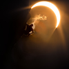 Matt Spohn during the first ascent of Path of Totality • August 21st, 2017