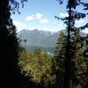 Mt Loki from the base of woodbury