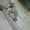 Connor Calderone climbing Schoolroom at 7 years old. (2006)