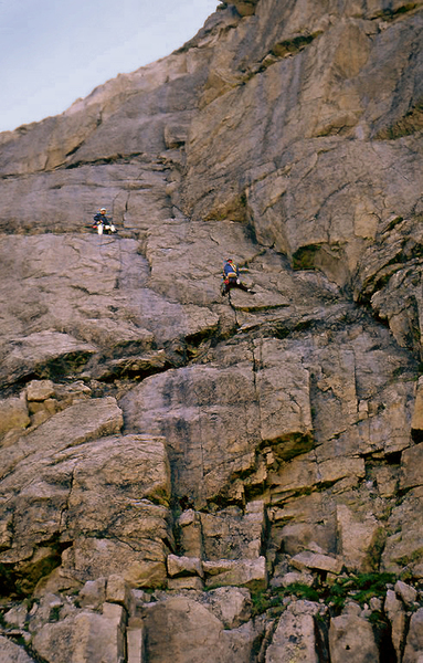 P1 on the first ascent.