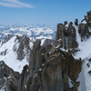 The exposed summit block