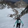 Climbing the NE Couloir of Mt.Sill