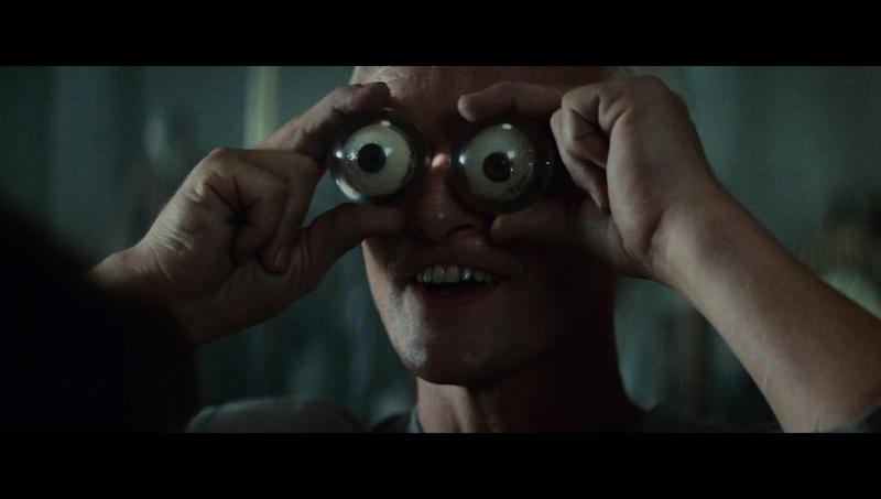 I don't know such stuff. I just do eyes, ju-, ju-, just eyes... just genetic design, just eyes. You Nexus, huh? I design your eyes!