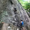 William embraces the hand jams on Hackberry Crack