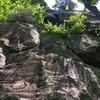 Base of climb (start on crack on left side)