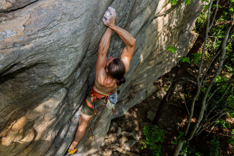 Here is what the wrong Beta looks like for exiting the crux