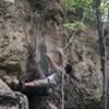 The fun crimps on the climb