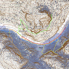 Upper Narrows topo overview.
