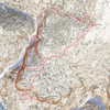Upper Dream Canyon topo overview.