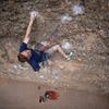 Climber Chris Rubacha<br> Photo by Anthony Johnson