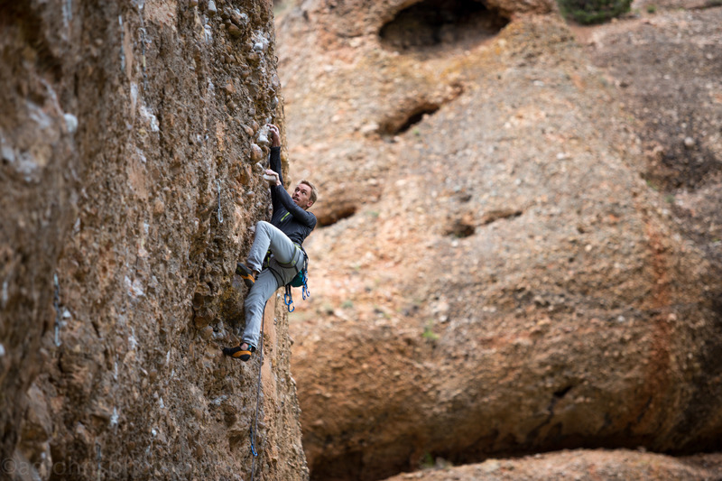 Stefan T Climber <br> Photo by Anthony Johnson