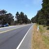 Parking area. Mile marker 43.66.