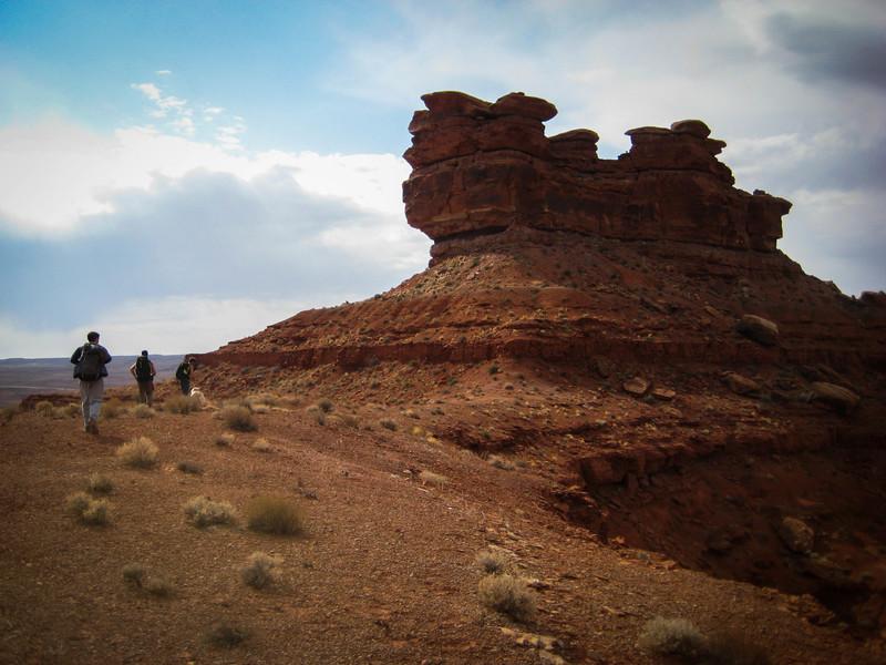 A huge Chauss pile, but some good adventure climbing