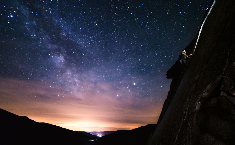 Tom Miller on Consolation Prize under the milky way
