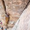 Sport climbers....