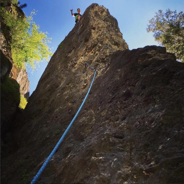 Really fun climb.