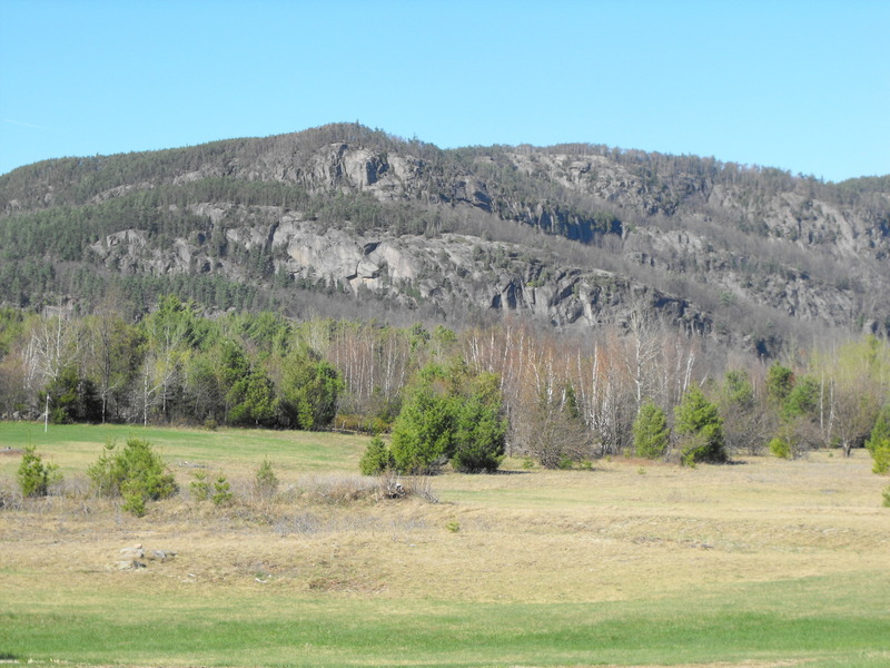 Unusual variety of large rocky outcroppings ..