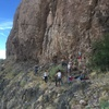 Rough & Ready Hills: the Las Cruces sport crag. One of few areas where you're likely to encounter other humans.