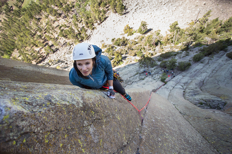 Climber Marianna Moss