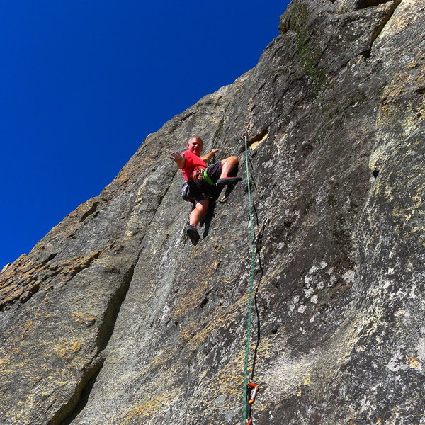Mike A on this super fun short route.