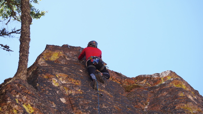 Daniel at the top!<br> <br> Photo by Ben Allan