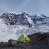 Camp at Curtis Ridge, 7400'