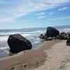 Surrounding boulders