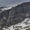 The First, Second, and Third Buttresses of Hallett Face from left to right.