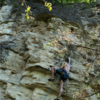 Setting the route at Crux 1 of 3