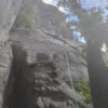 Pitch 1 of Little Corner, great intro to the grade.
