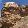 East side of Owl Tail Boulder.