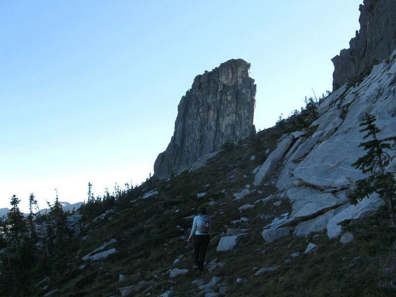 Chimney Rock (West Face)