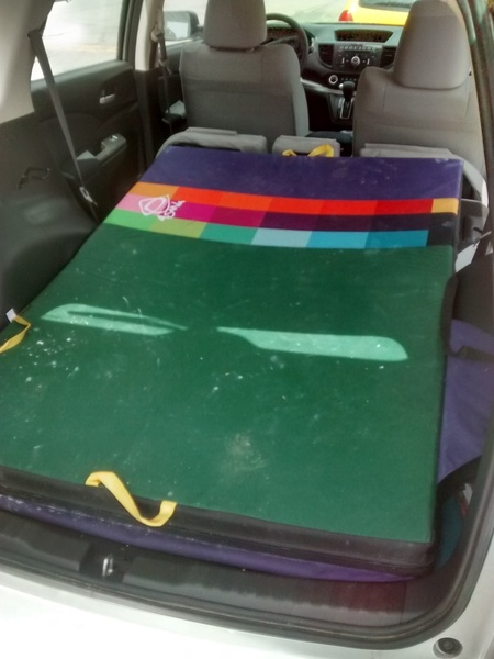 Highball pad or dirtbag camping?!
