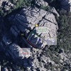Here is a Google Maps close-up of the top of the Sultan. It's orientated so that the top of the photo is north