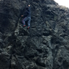 Me free soloing :)