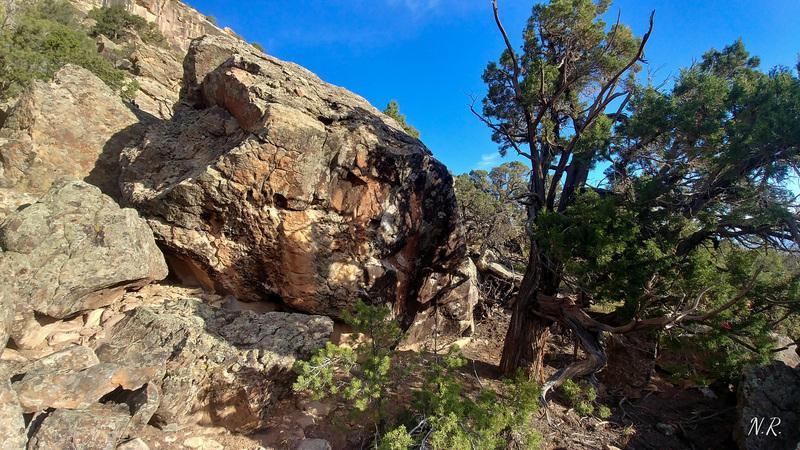 Spirit Boulder.