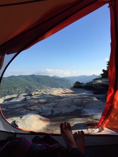 Great camping spots on Shortoff