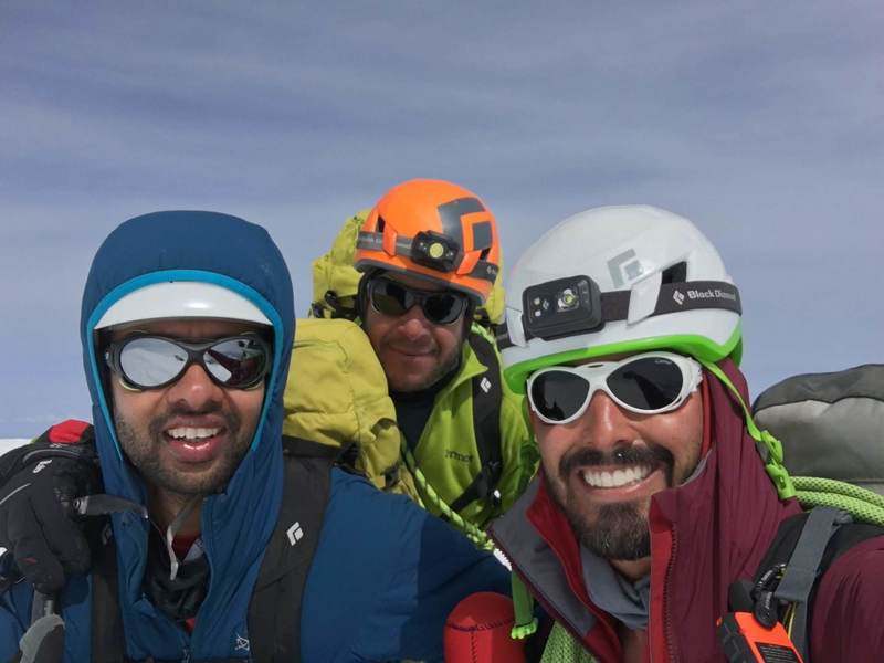 Ross, Mike and I, Liberty Cap summit shot