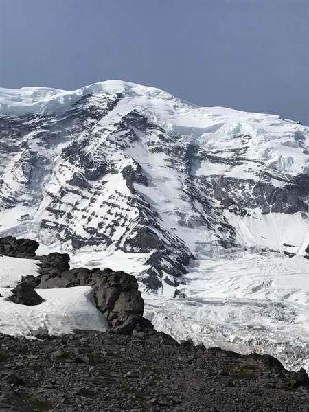Liberty Ridge as seen from Curtis ridge
