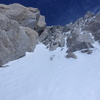"""The """"Hidden Rock Couloir"""" at the entrance of the Second Rock Band is the crux of the route, in my opinion.  Fantastic moderate mixed."""
