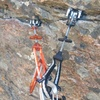 """These two """"standard"""" metolius mastercam placements are between the 1st and 2nd bolts."""
