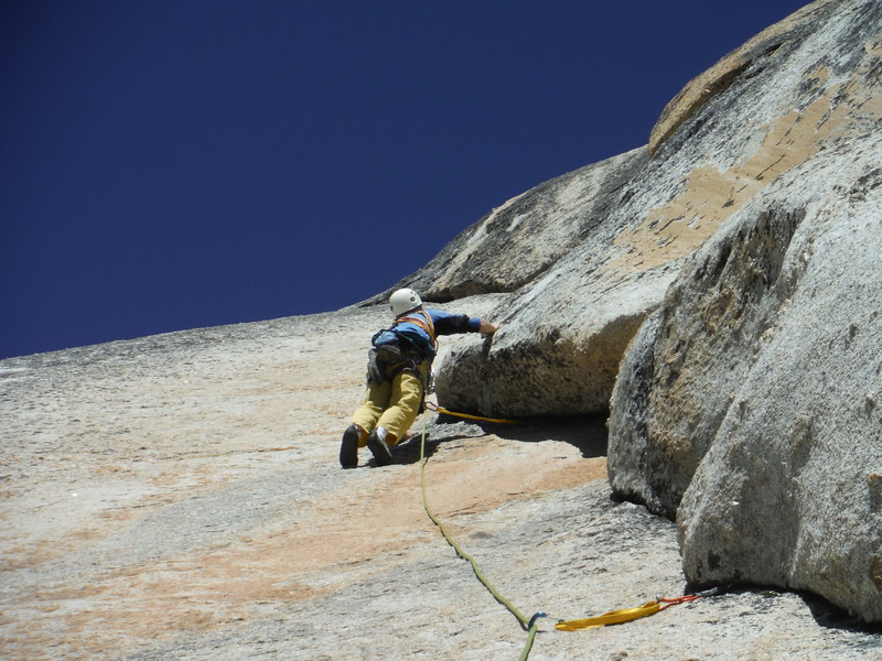 Tom Rogers leading p3, Lizard Lieback, Fairview Dome