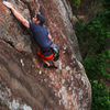 Aaron freesoloing Foolish in his normal cool style
