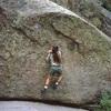Kathy Kocon on Roybal's Wall early 70's