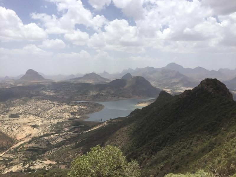 Hiking above Adwa
