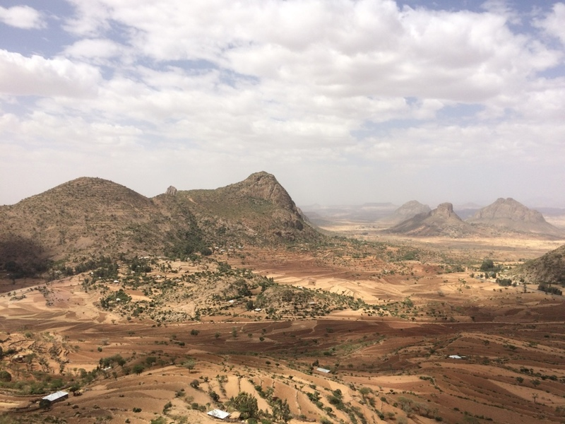 View from Lhytse (Adwa, Tigray region)