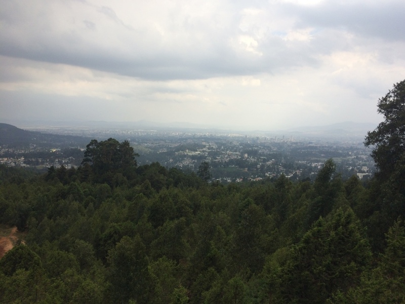 View of Addis Ababa from The Craglette