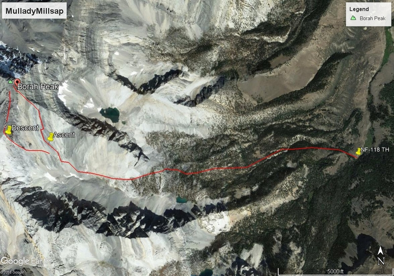 Route topo using Google Earth