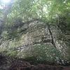 Clearcut Wall, Catfish Crack, Buford Dam Boulders, Ga